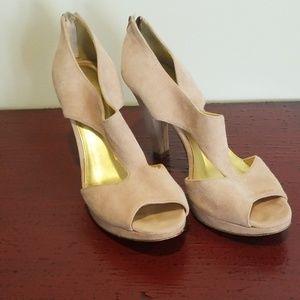 J Crew Light Pink Heels